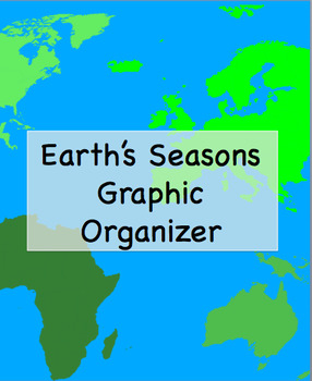 Earth's Seasons Graphic Organizer