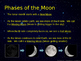 Earth, Seasons, Phases of the Moon, Eclipses and Tides
