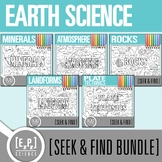 Earth Seek and Find Science Doodle Pages Bundle