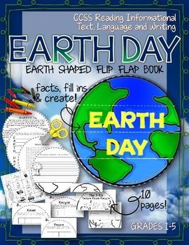 EARTH SHAPED FLIP BOOK: CELEBRATE EARTH DAY!