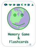 Earth-Shapes Flash cards/ Memory game
