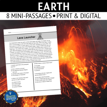 Earth Short Reading Passages