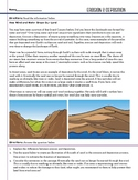 Earth Space - Erosion & Deposition - STEM Worksheet
