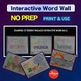 Science - Earth & Space Science - Interactive Word Wall Activity - NO PREP