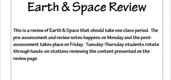 Earth & Space Intervention Part 1