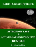 Earth & Space Science Astronomy Labs & Active Learning Projects Bundle
