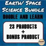 Earth/ Space Science Doodle & Learn Notes Bundle (GROWING BUNDLE)