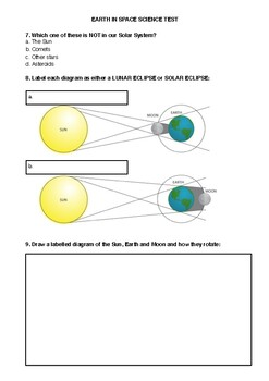 Earth & Space Science Exam