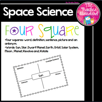 Earth Space Science Four Square
