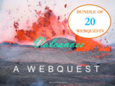 Earth & Space Science: 20 Webquests for Geology, Meteorolo