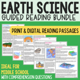 Earth & Space Science Guided Reading Bundle