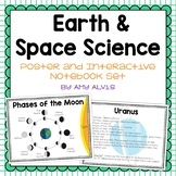Earth & Space Science Poster and Interactive Notebook INB Set