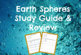 Earth Spheres PRACTICE REVIEW and STUDY GUIDE