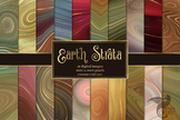 Earth Strata Agate Geode Textures