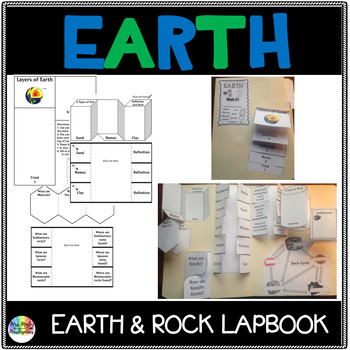 Earth Structures Lap book or Interactive Notebook