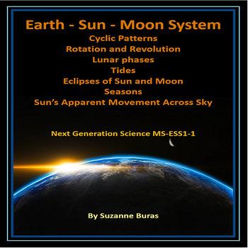 Earth, Sun, Moon Cyclic Patterns - Next Generation Science MS-ESS1-1