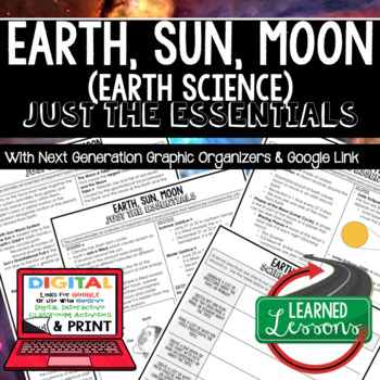Earth, Sun, Moon Just the Essentials Content Next Generation Science,  Google