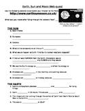Earth-Sun- Moon Webquest