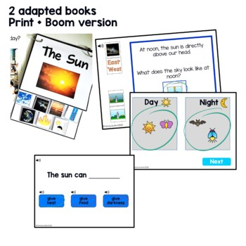 Earth/Sun Relationship Unit for Special Ed