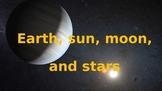 Earth, Sun, Stars and Moon Game