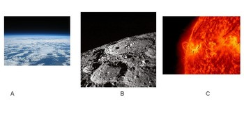 "Earth, Sun, and Moon Characteristics ""Odd One Out"" Activity"