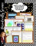Earth, Sun, and Moon (TEKS 5.8D) Digital Interactive Notebook-Hyperdoc