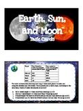 Earth, Sun, and Moon Task Cards