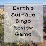 Earth Surface Science Review Bingo
