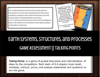 Earth Systems, Structures, and Processes || GAME Assessment