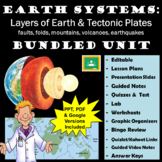 Earth Systems Unit: Layers of the Earth and Tectonic Plates Unit