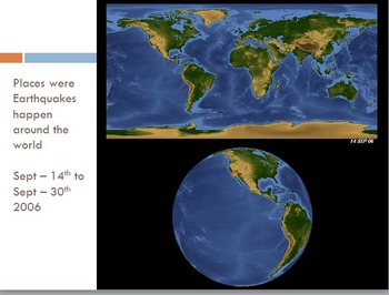 Earth Tectonics Unit; Tectonic Plates; Volcanoes and Earthquakes