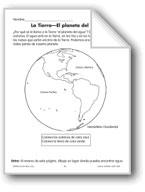 Earth-The Water Planet/La Tierra-El planeta del agua