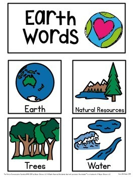Earth Day Unit for Autism & Special Education