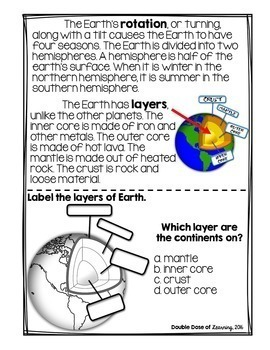 The Solar System: Planet Earth Research Unit with PowerPoint
