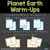 Earth Warm-Ups (Bell Ringers)