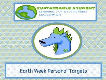 Earth Week Daily Targets