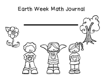 Earth Week Math Journals