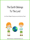Earth Week Scripture and Activity Pack