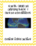 Earth Wind and Ocean Currents Online Interactive