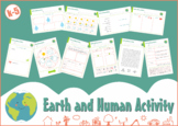 Earth and Human Activity Worksheets (NGSS)