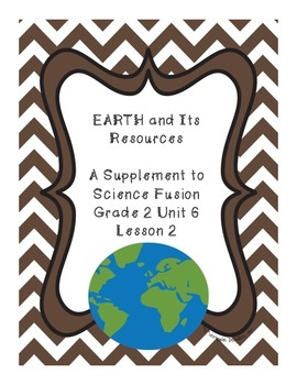 Earth and Its Resources - lesson 2 Science Fusion