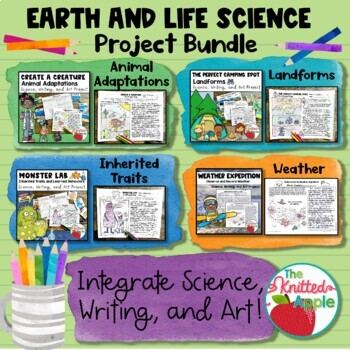 Earth and Life Science Project Bundle
