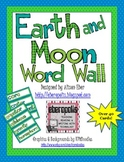 Earth and Moon Word Wall