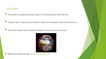 Physics: Earth and Space
