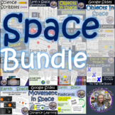 Earth and Space BUNDLE PowerPoint, Worksheets, Vocabulary,