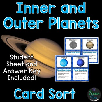 Earth and Space Card Sort Bundle