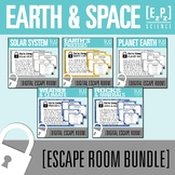 Earth and Space Science Escape Room Bundle