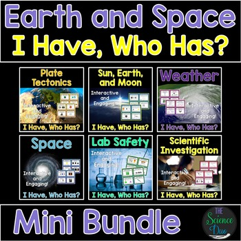 "Earth and Space ""I Have, Who Has?"" - Mini Bundle"
