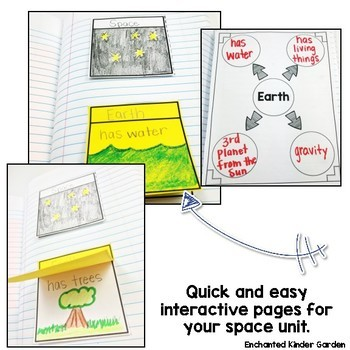 Earth and Space Unit: Interactive Notebook