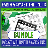 Earth and Space Passages and Activities BUNDLE | Print and